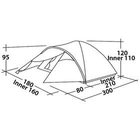 Easy Camp Quasar 300 Tent turquoise